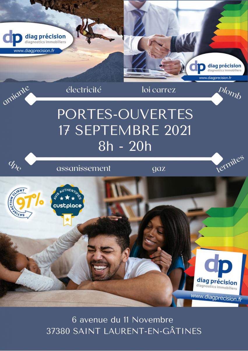 EVENEMENT : Portes Ouvertes 17 septembre 2021